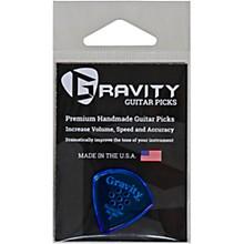 GRAVITY PICKS Sunrise Big Mini Polished Blue Multi-Hole Guitar Picks