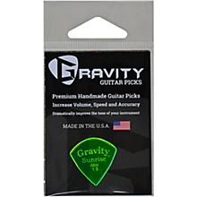 GRAVITY PICKS Sunrise Mini Polished Fluorescent Green Guitar Picks