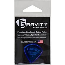 GRAVITY PICKS Sunrise Standard Polished Blue Guitar Picks