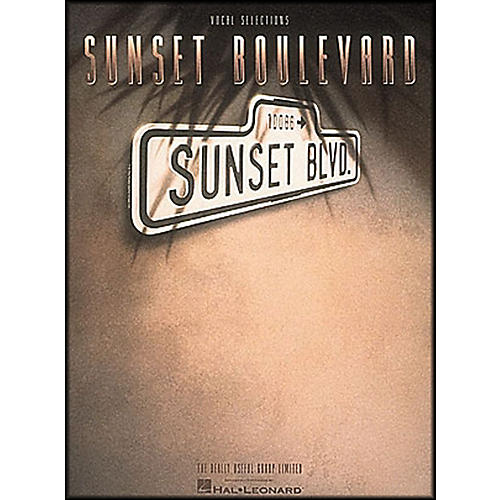 Hal Leonard Sunset Boulevard Vocal Selections arranged for piano, vocal, and guitar (P/V/G)