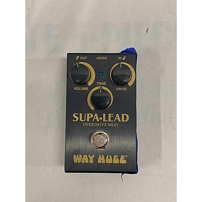 Way Huge Electronics Supa-lead Effect Pedal