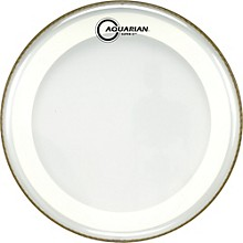 Super-2 Clear Drumhead with SX Ring 8 in