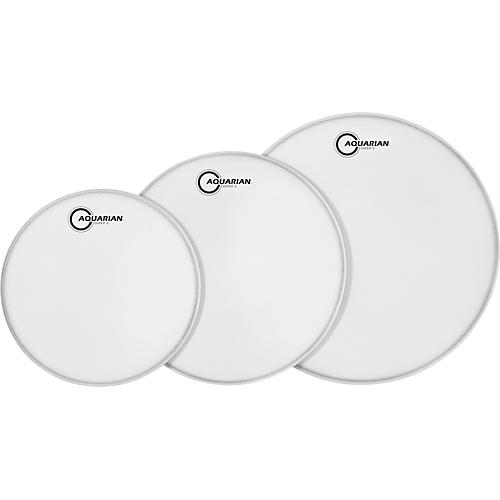Aquarian Super-2 Texture Coated Drumheads Fusion Pack
