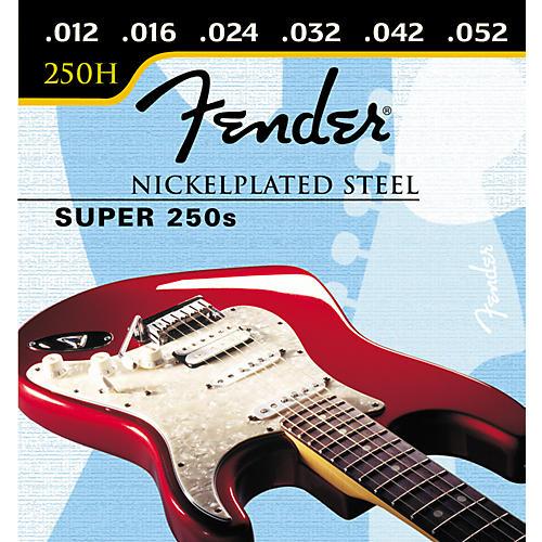 Fender Super 250H Nickel/Steel Heavy Ball End Electric Guitar Strings