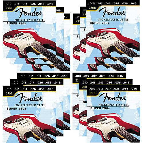 Fender Super 250R 10-46 12-Pack