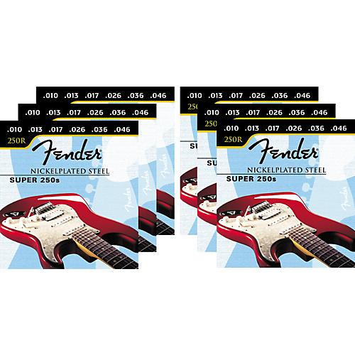Fender Super 250R 10-46 6-Pack