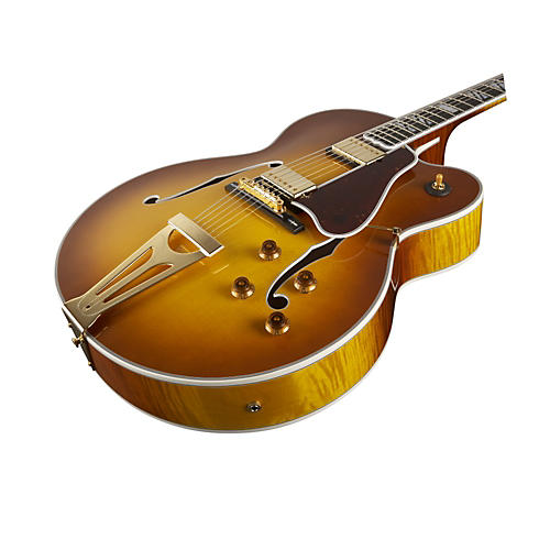 Gibson Custom Super 400 CES Hollowbody Electric Guitar (Sunrise Tea Burst)