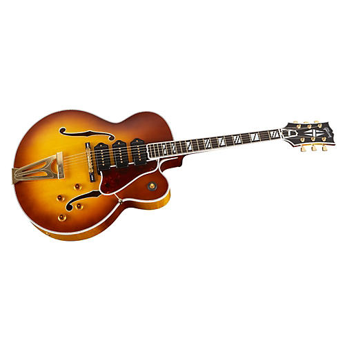 Gibson Custom Super 400 Hollowbody Electric Guitar with Triple P-90s