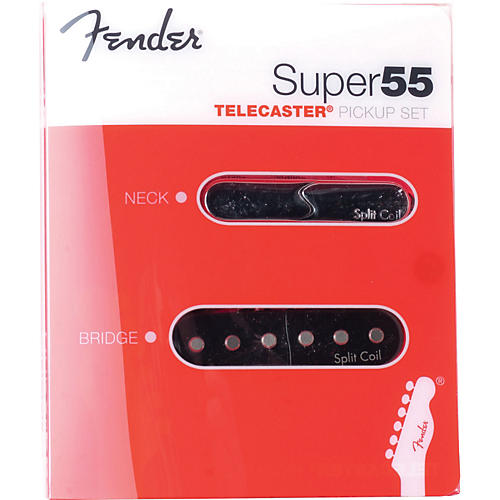 Fender Super 55 Split Coil Telecaster Pickup Set