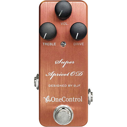 One Control Super Apricot Overdrive Effects Pedal