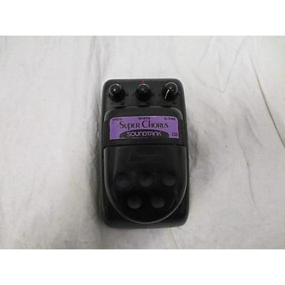 Ibanez Super Chorus Soundtank Effect Pedal