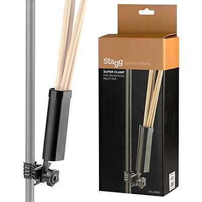 Stagg Super Clamp Multi-Pair Drum Stick Holder