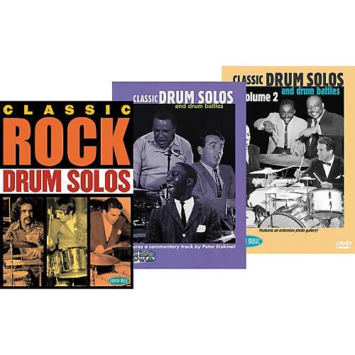 Hudson Music Super Classic DrumTrio DVD Pack