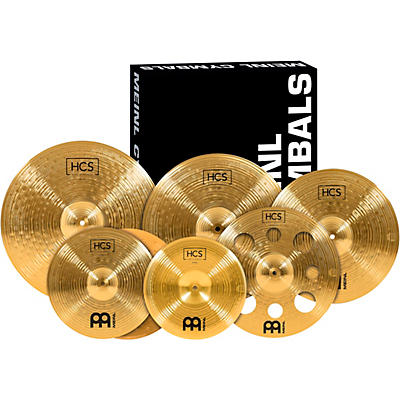 Meinl Super Cymbal Set with a Free 16 in. Crash