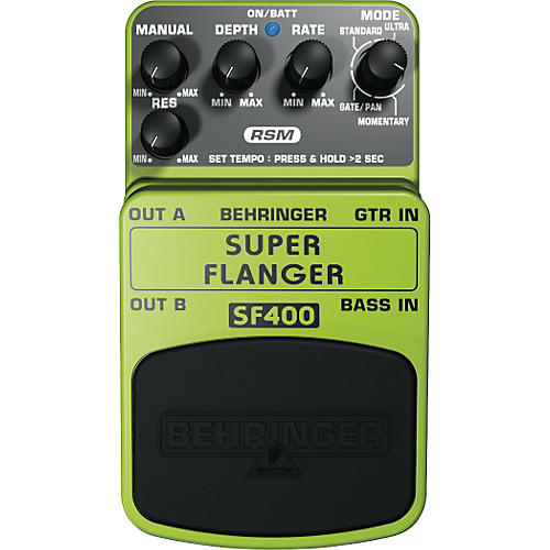 Behringer Super Flanger SF400 Guitar Effects Pedal