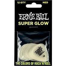 Super Glow Guitar Picks Medium 12 Pack