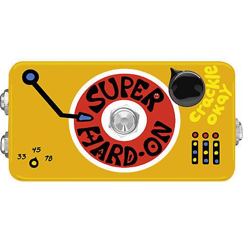 ZVex Super Hard-On Overdrive Guitar Effects Pedal