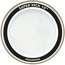 Super-Kick 10 Bass Drumhead Clear 24 in.