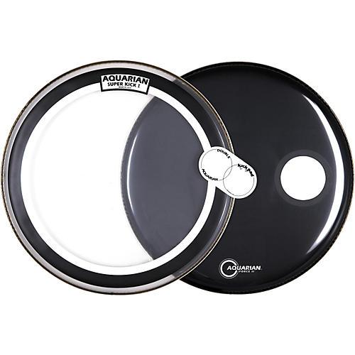 Aquarian Super Kick Bass Drum Head Pack, 22