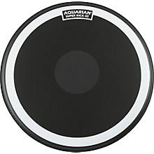 Open BoxAquarian Super-Kick III Black Drumhead
