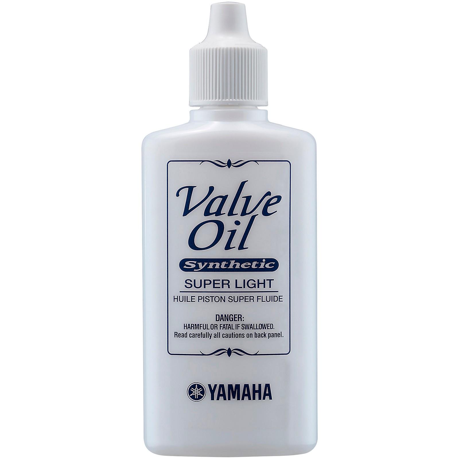 Yamaha Super Light Synthetic Valve Oil, 60mL