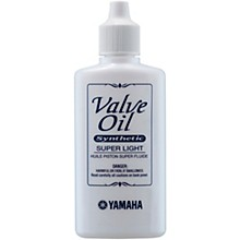 Yamaha Super Light Synthetic Valve Oil, 60mL