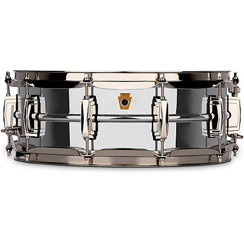 open box ludwig super ludwig chrome brass snare drum with nickel hardware 14 x 5 in musician. Black Bedroom Furniture Sets. Home Design Ideas