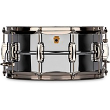 Open BoxLudwig Super Ludwig Chrome Brass Snare Drum with Nickel hardware