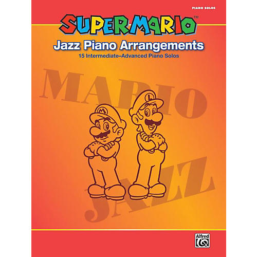 Alfred Super Mario Jazz Piano Arrangements Book