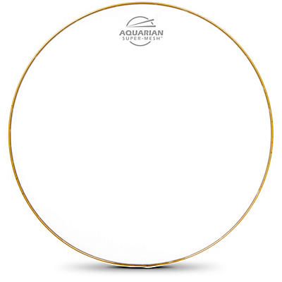 Aquarian Super Mesh Bass Drum Head