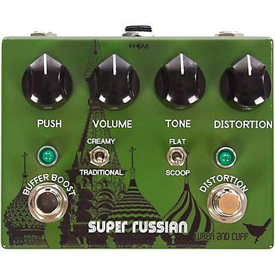 Wren And Cuff Super Russian Fuzz/Buffer Boost Effects Pedal