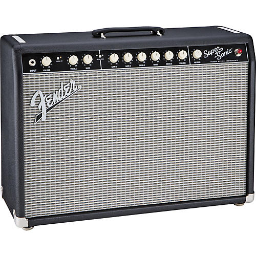 fender super sonic 22 22w 1x12 tube guitar combo amp black musician 39 s friend. Black Bedroom Furniture Sets. Home Design Ideas