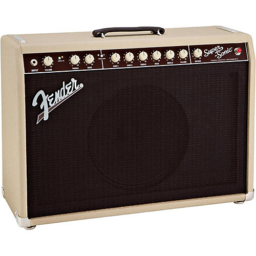 Fender Super-Sonic 22 22W 1x12 Tube Guitar Combo Amp Condition 1 - Mint Blonde