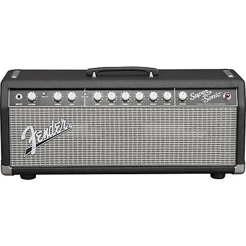 Fender Super-Sonic 22 22W Tube Guitar Amp Head Condition 1 - Mint Black