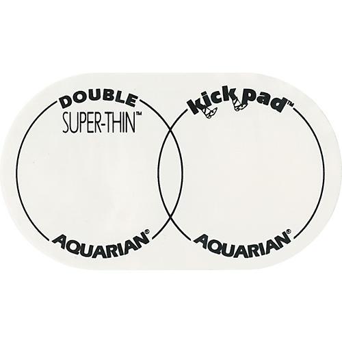 Aquarian Super-Thin Double Bass Drum Kick Pad