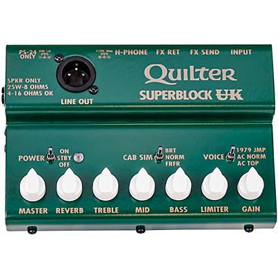 Quilter Labs Superblock UK Amplifier Head