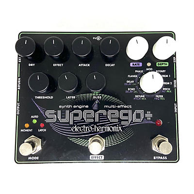 Electro-Harmonix Superego+ Synth Effect Processor