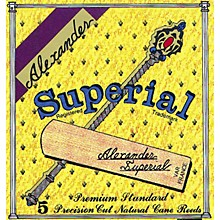 Superial Bb Clarinet Reed Strength 2 Box of 5