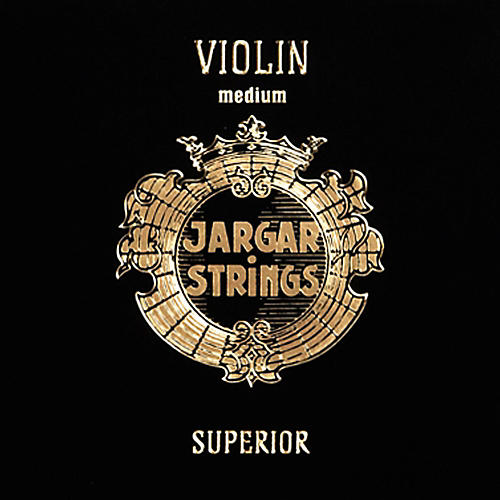 Jargar Superior Series Synthetic Violin String Set 4/4 Size, Medium