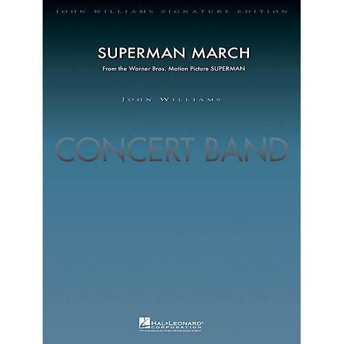 Hal Leonard Superman March (Score and Parts) Concert Band Level 5 Arranged by Paul Lavender