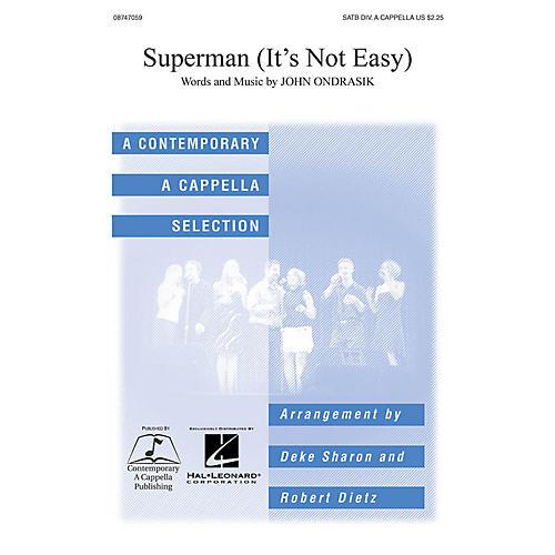 Hal Leonard Superman SATB a cappella arranged by Deke Sharon