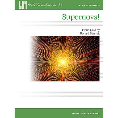 Willis Music Supernova! (Early Inter Level) Willis Series by Ronald Bennett