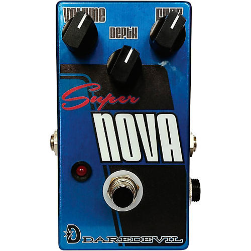 Daredevil Pedals Supernova Fuzz Effects Pedal