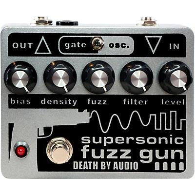 DEATH BY AUDIO Supersonic Fuzz Gun Versatile Fuzz Effects Pedal