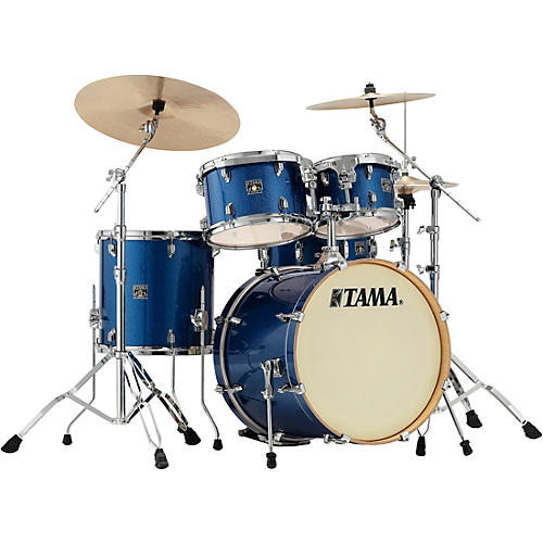 TAMA Superstar Classic 5-Piece Shell Pack with 20 in. Bass Drum Indigo Sparkle