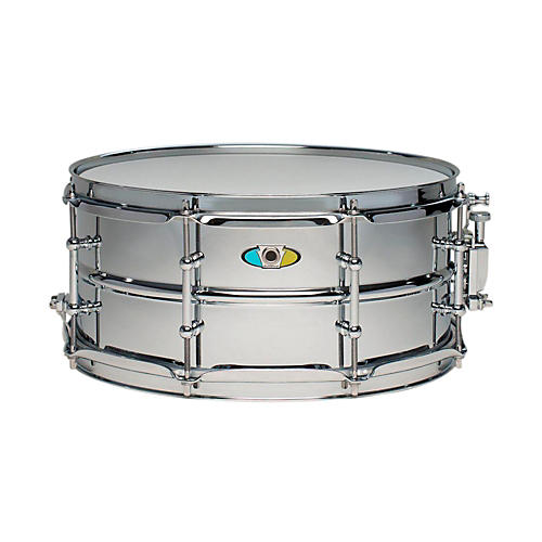 Ludwig Supralite Steel Snare Drum 13 x 6 in.