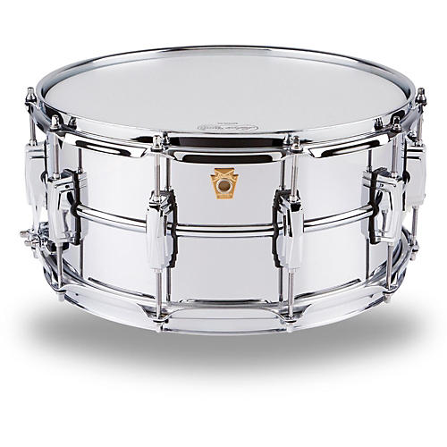 Ludwig Supraphonic Snare Drum Chrome 14 x 6.5 in.