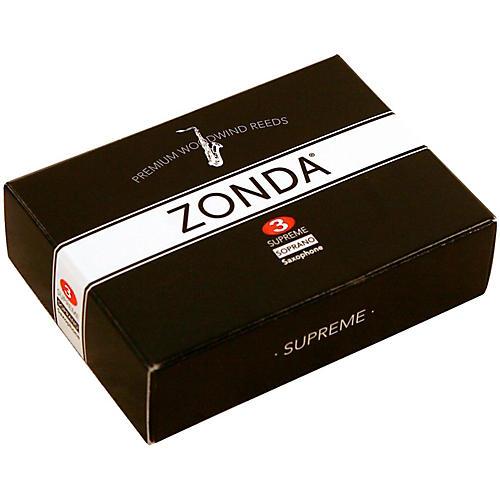 Zonda Supreme Soprano Saxophone Reed Strength 3 Box of 5