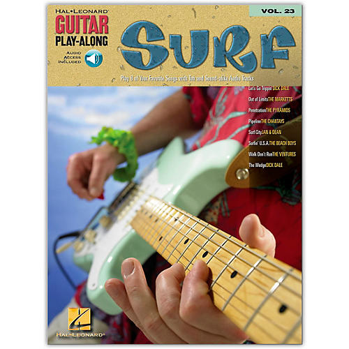 Hal Leonard Surf Guitar Play-Along Series Volume 23 (Book/Online Audio)