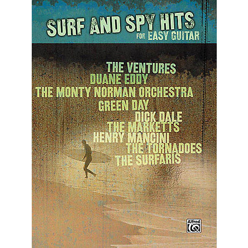 Hal Leonard Surf and Spy Hits for Easy Guitar Easy Guitar Series Softcover Performed by Various